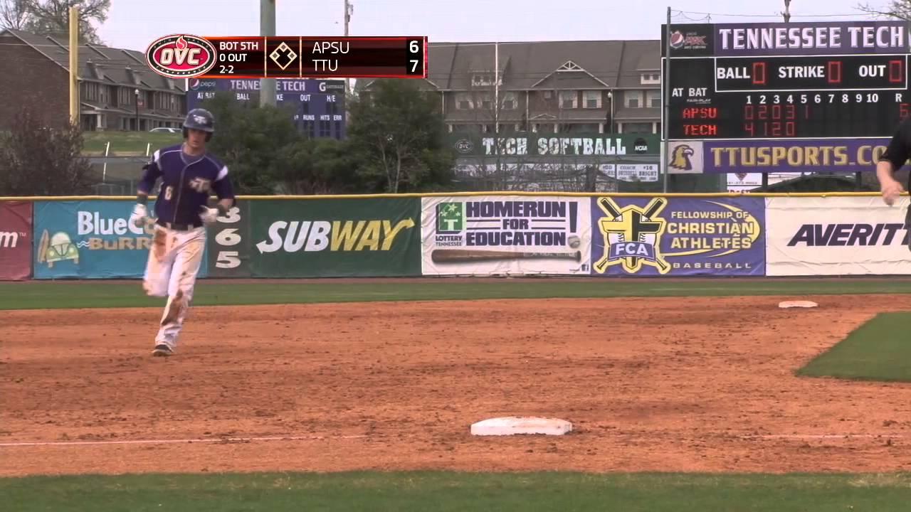 tennessee tech baseball vs austin peay game 3 highlights