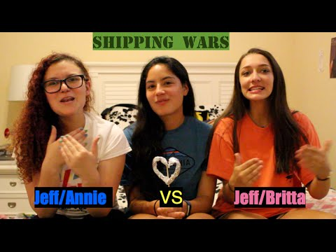 Shipping Wars- Jeff and Britta vs Jeff and Annie