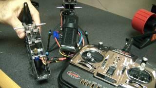 Dynam ESC programming for E-Razor 450