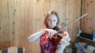Урок скрипки 10. Двойные ноты