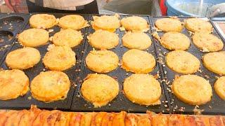 japanese street food - osaka pork omelette BUTA TAMA