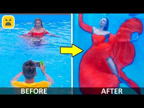 12 AMAZING PHOTO IDEAS! Funny and Creative Photo DIY Life hacks