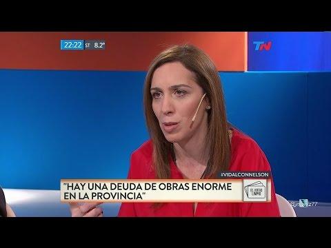 Vidal: No venimos a negociar con delincuentes y no nos vamos a apartar por las amenazas