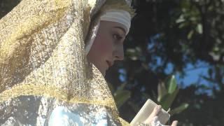 Procesión Gamarra 2015  Virgen con marcha Virgen del Amparo