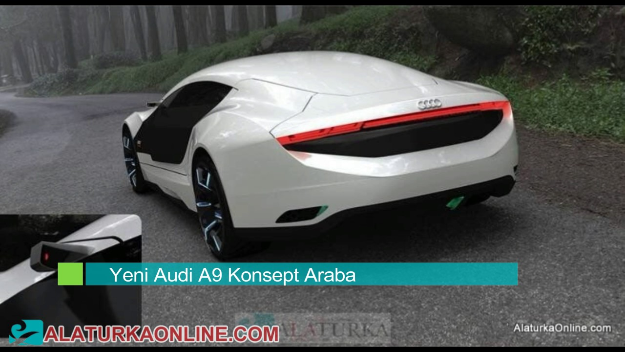 Audi A9: otomobillerde nanoteknoloji 48