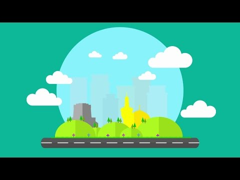 Air Pollution Motion Graphic