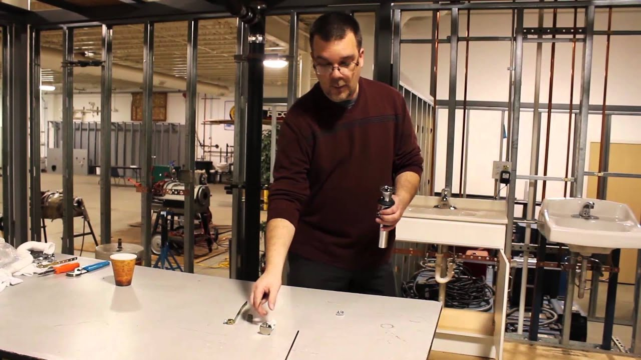 How-To | How to Replace a Faucet Pop Up - YouTube