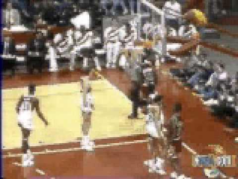 Michael Jordan layup vs Atlanta - NBA Regular Season 1987/88