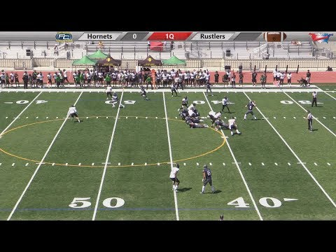 Hornet Football vs Golden West College