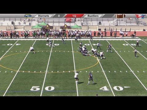 Hornet Football Vs Golden West College