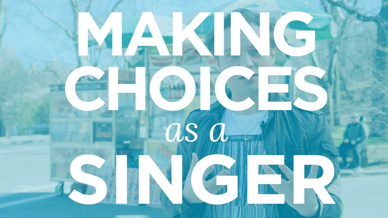 """Making Choices As A Singer"" - Quick Singing Tips Ep. 11 Cover"