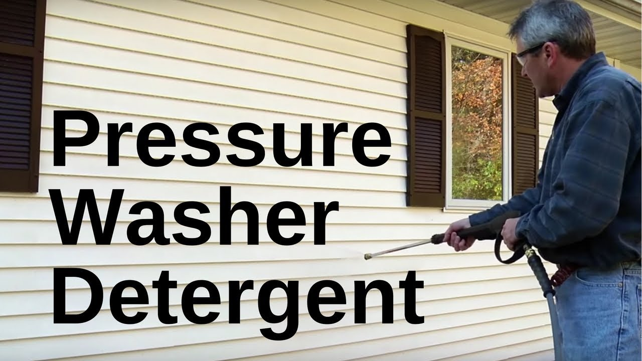 How to Use Detergent for Your Pressure Washer