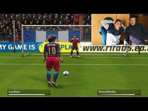 PENALTIS DESDE FIFA 94 AL FIFA 18 (REACCIONANDO CON FRAN)  [ByDiegoX10]
