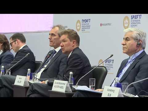 Speech by Alexey Miller at St. Petersburg International Economic Forum