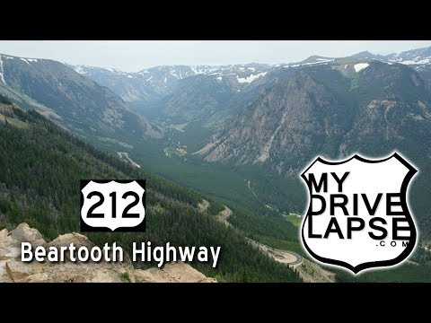 Beautiful Beartooth Highway!  Red Lodge To Beartooth Pass