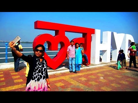 LOVE HYDERABAD - Selfie Hot Spot at Tank bund | Best HD Video!