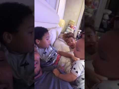 TI WITH HIS KIDS LIVE IG 17 JUNE PT 2