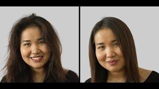 Кератинове випрямлення волосся Inoar G-hair. До і після. Покрокове керівництво! р. Астана