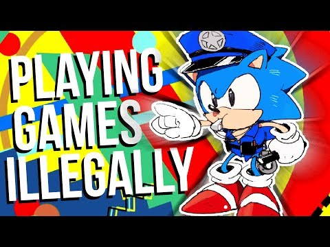 Playing Video Games Illegally