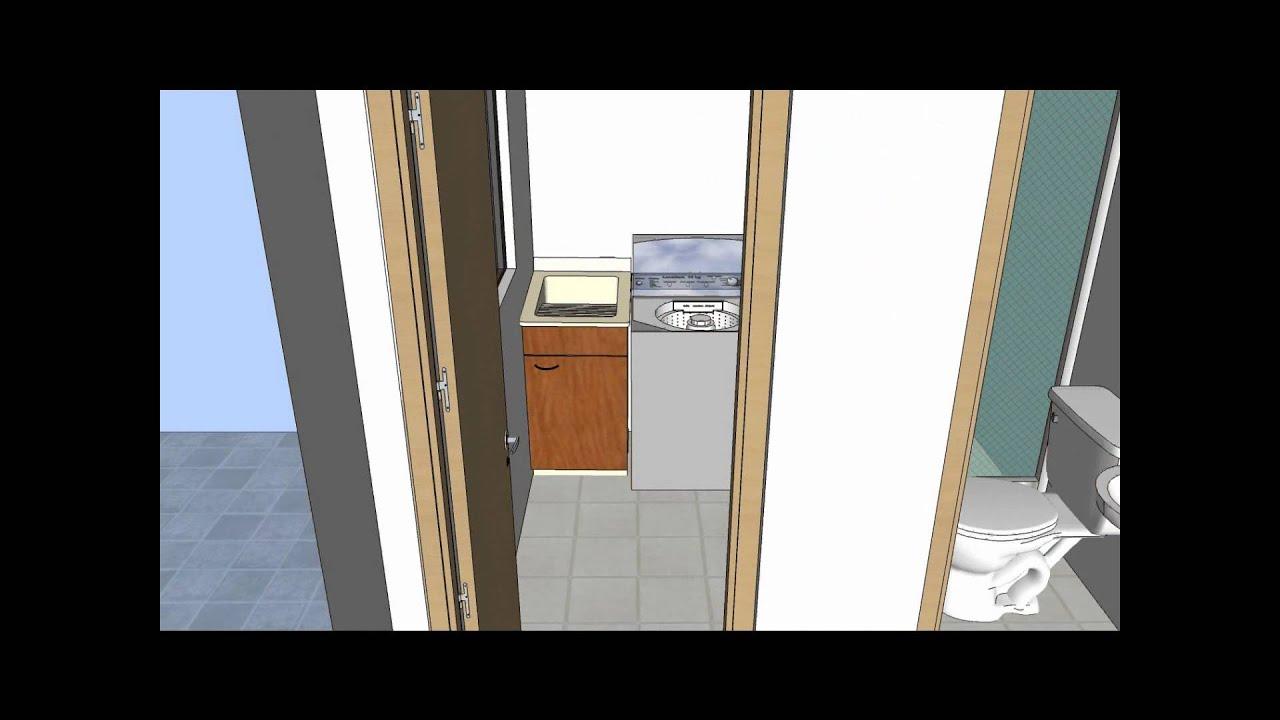 Proyecto multifamiliar vip arcoiris apartamento modelo for Apartamento modelo