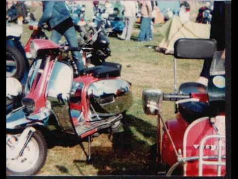Newark on Trent scooter rally 1984