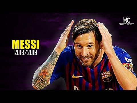 Lionel Messi ? Jugadas Mágicas, Pases Y Goles ? 2018/19 HD