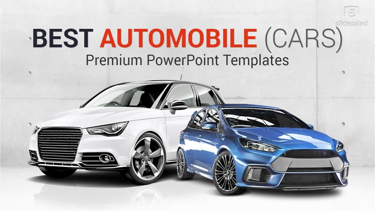 Best Automobile Powerpoint Templates Cars Ppt Themes Slidesalad Youtube