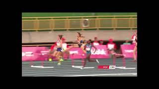 Finał biegu na 400 m z Joanną Linkiewicz - 500 medal na uniwersjadzie!