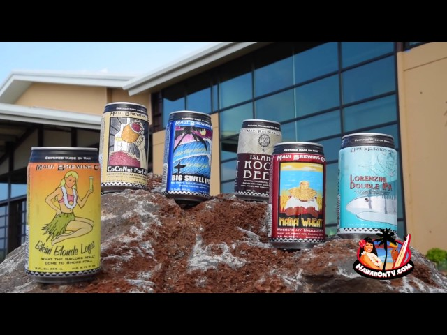 New Branding at Maui Brewing Company