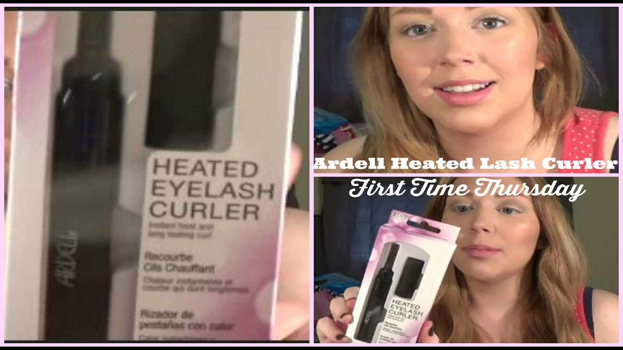 5059e59b853 First Time Thursday: Ardell Heated Lash Curler Review - YouTube