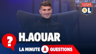 VIDEO: La minute à questions VS Houssem Aouar  | Olympique Lyonnais| Olympique Lyonnais