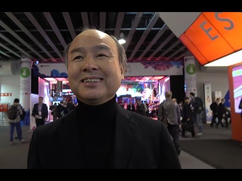 Masayoshi Son Interview, SoftBank CEO, owner of ARM