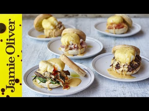 Eggs Benedict 5 Ways - Jamie Oliver - Happy Father's Day