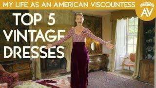 Vintage haul: My Top 5 vintage dresses from 1900 - 1930's