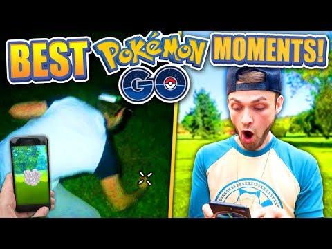 TOP 22 BEST Ali-A POKEMON GO MOMENTS ! (Pokemon GO 1 YEAR)