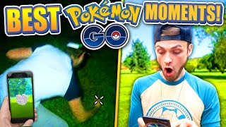 TOP 22 BEST Ali-A POKEMON GO MOMENTS ! (Pokemon GO 1 YEAR)