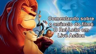 O Rei Leão terá filme Live Action