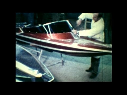 "Almarine ""The Prop and Jet Set"" 1970s speedboats cine films"