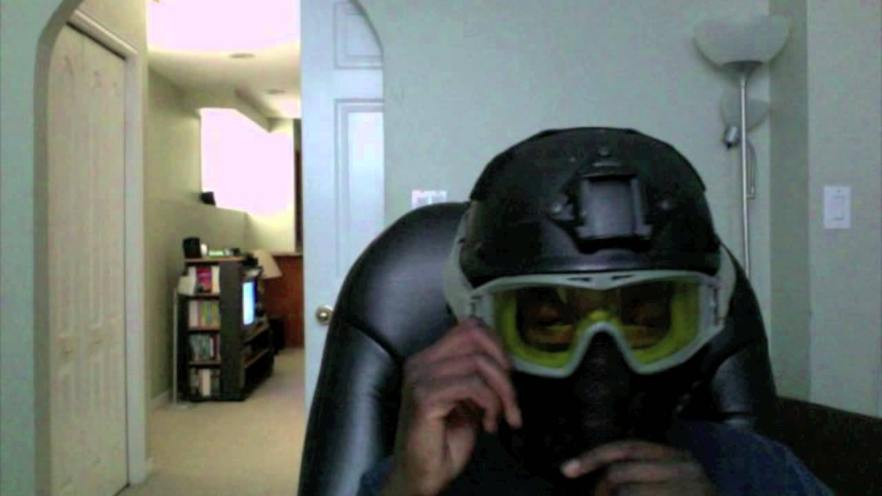 Airsoft Helmet Mask Setup Tutorial 2 Youtube