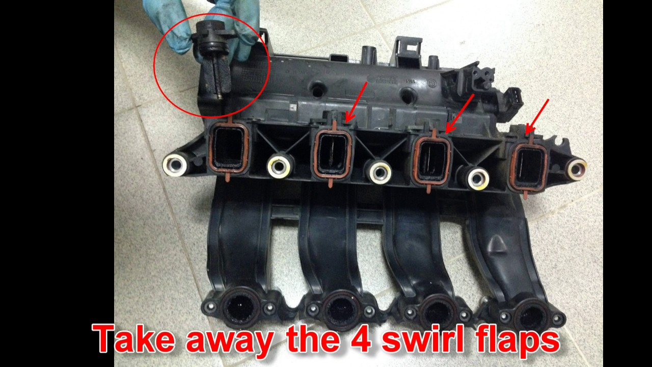 bmw e90 320d swirl flaps removal and egr valve cleaning. Black Bedroom Furniture Sets. Home Design Ideas