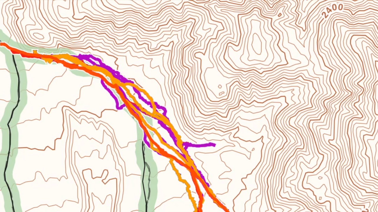 4  GAIA GPS: Tracking Your Hike Starting at the Map Screen