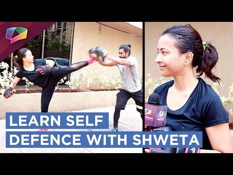 Shweta  Basu Prasad Teaching Self Defence Exclusively On India Forums