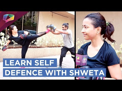 Shweta  Basu Prasad Teaching Self Defence Exclusively On India Forums
