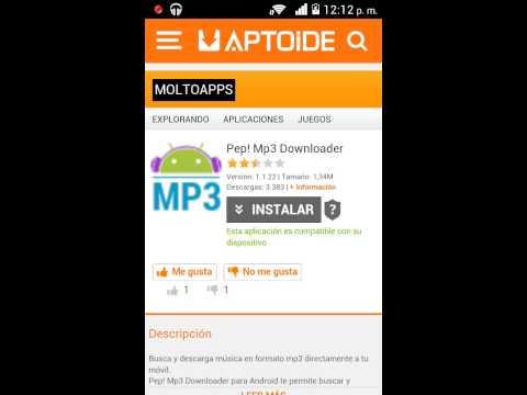 Descargar Pep mp3 downloader