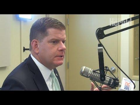 Mayor Marty Walsh slams President Trump's response to New York attack