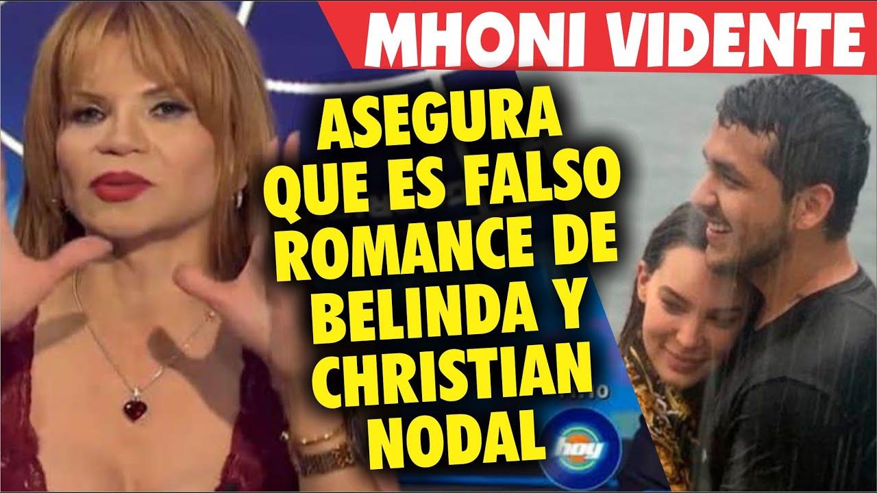 Mhoni Vidente asegura que es FALSO romance entre Belinda y Christian Nodal