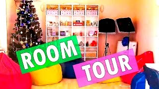 ROOM TOUR/  МОЯ КОМНАТА/  РУМ ТУР/  2017