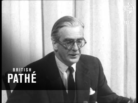 Prime Minister's Broadcast On The Suez Canal (1956)