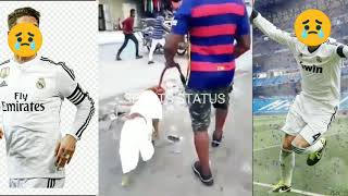Funny Videos | Barcelona fans be like | Real Madrid fans be Reaction | Sports Status