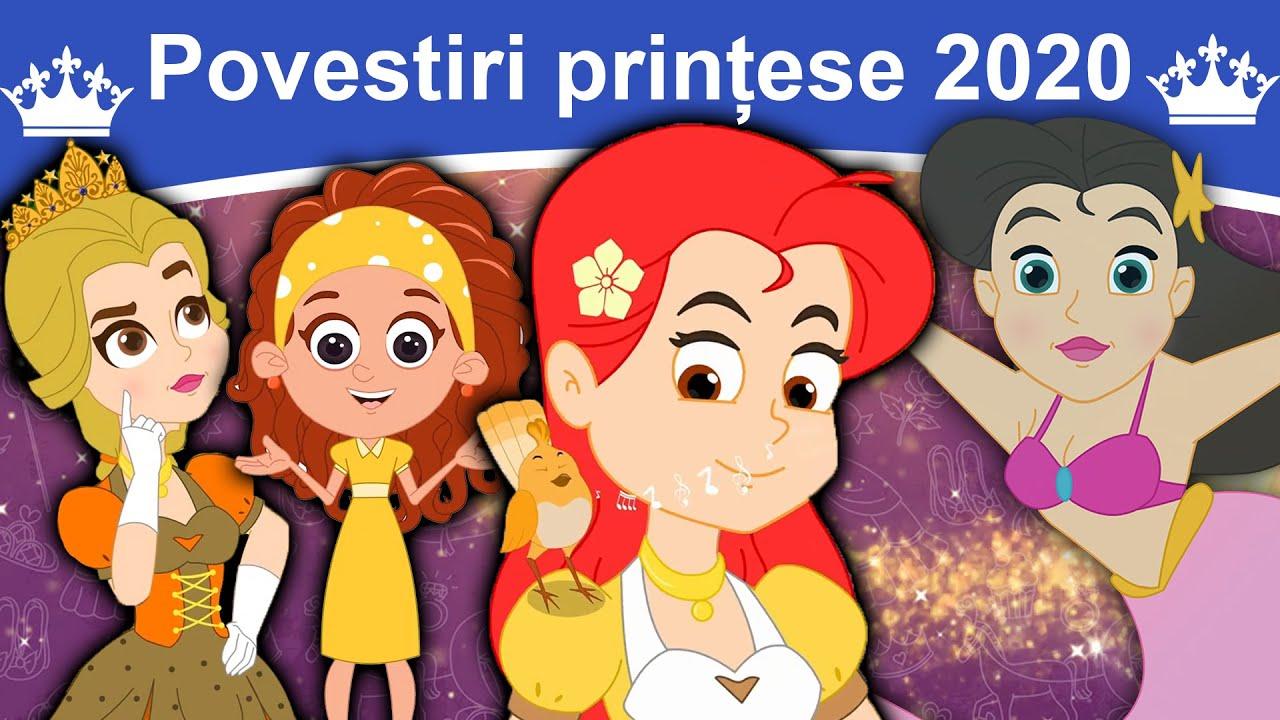 Povestiri prințese 2020   Povești pentru copii   Desene animate   Basme În Limba Română   Povești
